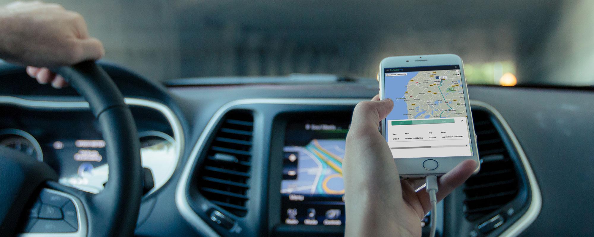 Rittenregistratie en wagenparkbeheer van locatienu